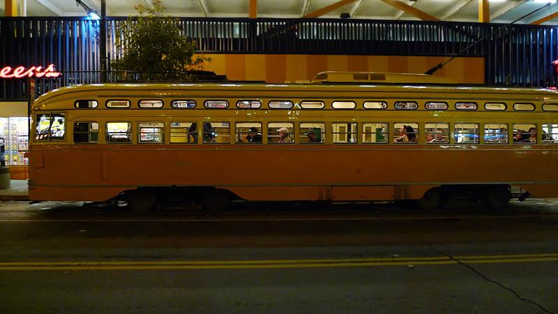 Night trolley II