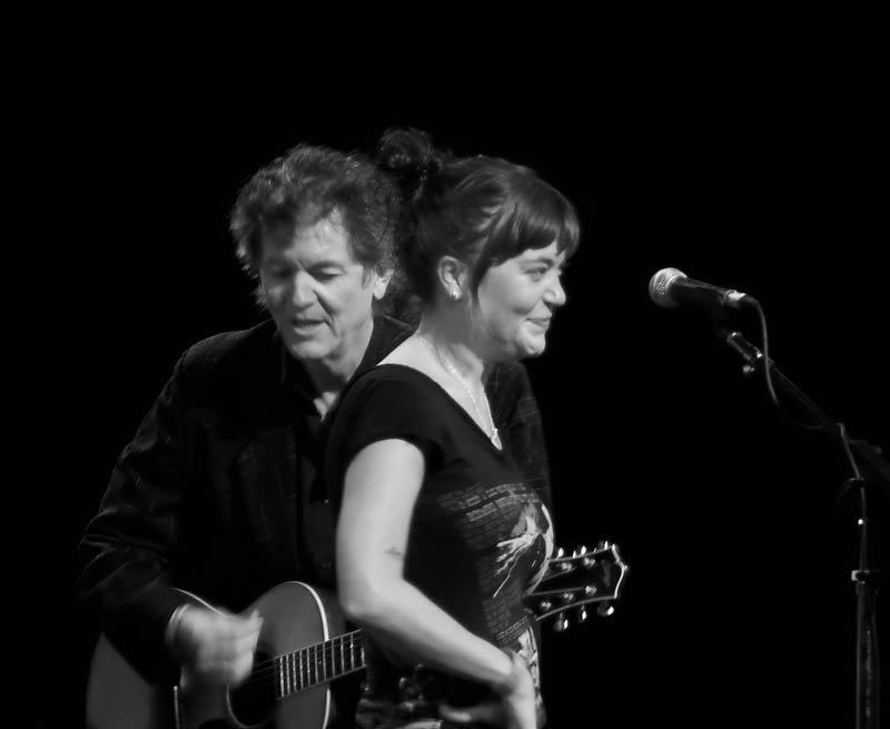 Rodney Crowell and  daughter Caitlin