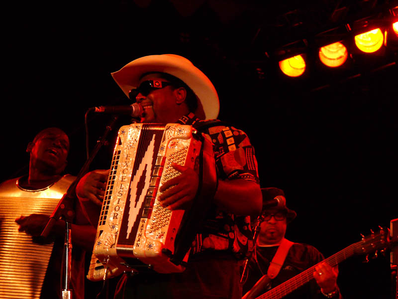 Zydeco time...
