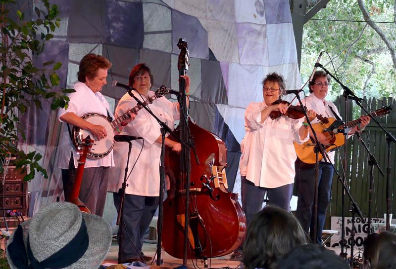 High Hills bluegrass and western music at Sunday morning Hotlicks