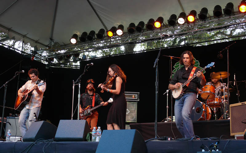 The Mammals at mainstage