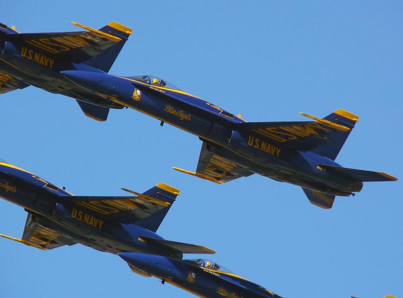 Blue Angels FA-18B Hornet