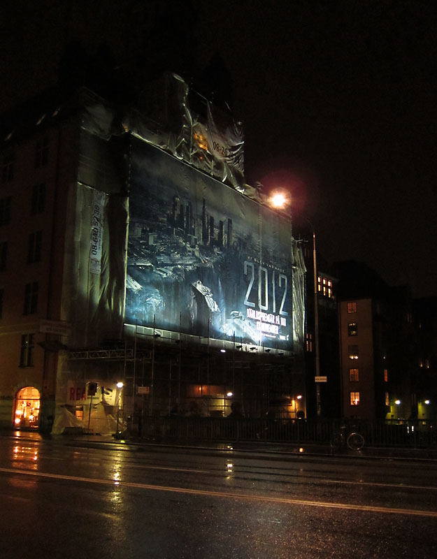 Catastrophe comes to Stockholm