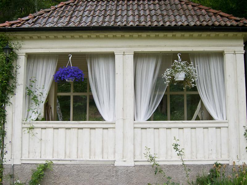 Draped windows