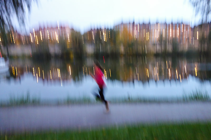 Running by the canal