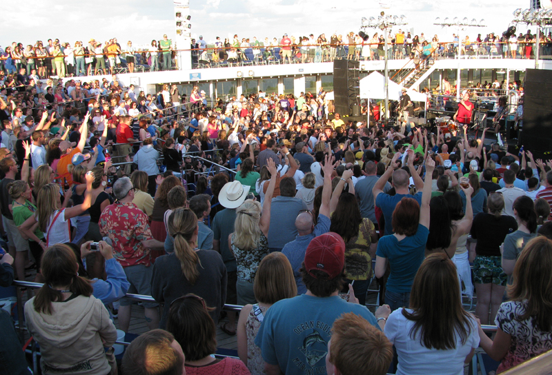 sail away party with Cowboy Mouth