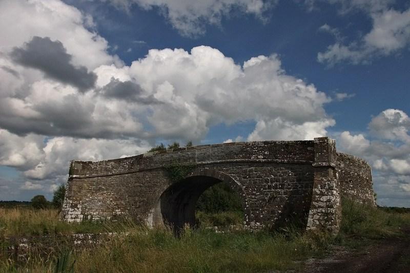 Bridge to nowhere, Ballymaglavey Bog