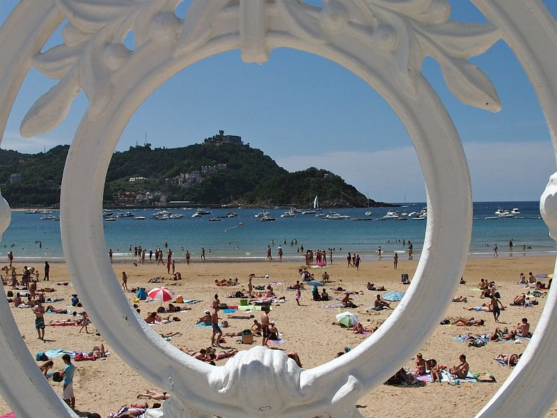 San Sebastian - Playa de la Concha