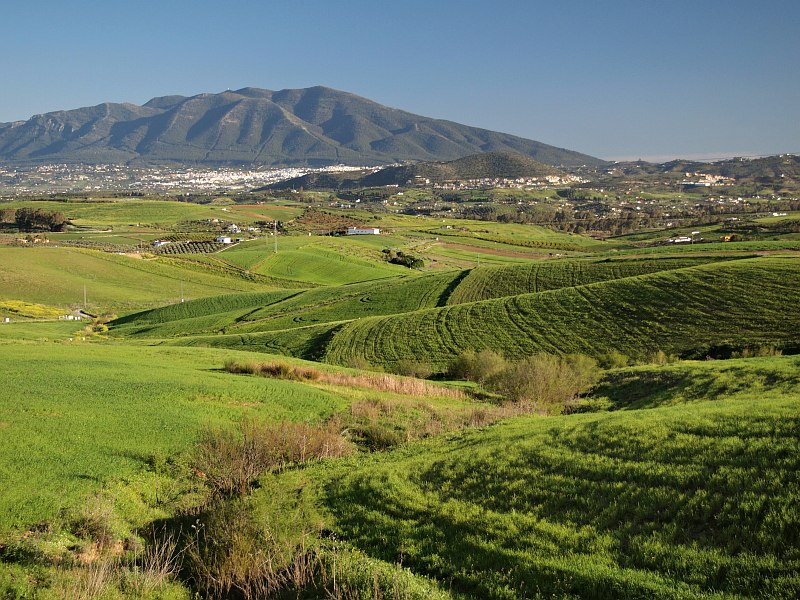Guadalhorce Valley, near Cerralba