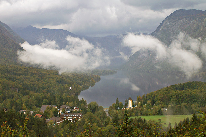 Lake Bohinj, from Peč