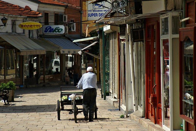 Street in Čaršija (Bazaar)