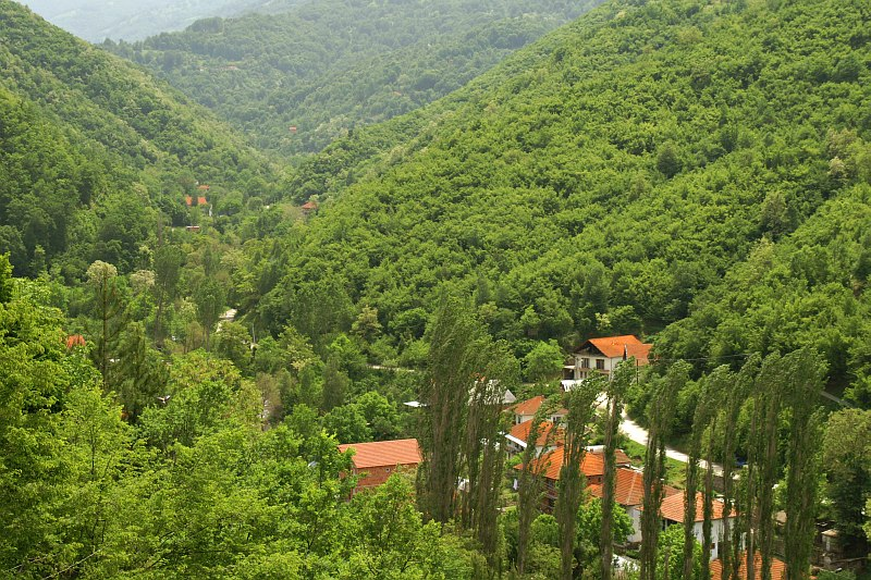 Valley in Osogovske Mountains