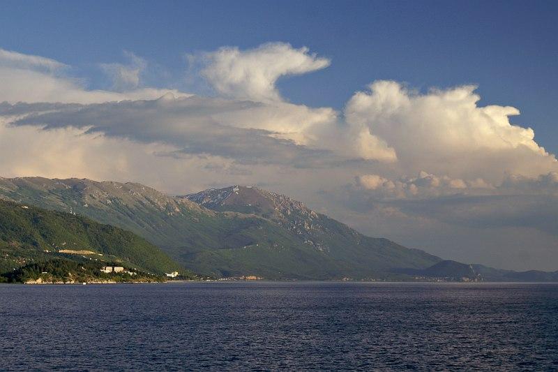 Lake Ohrid - eastern shore