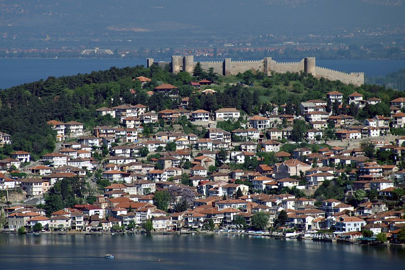 Ohrid and Tsar Samoils Fortress