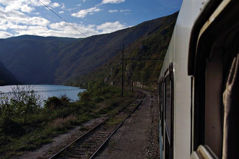 Train on the Mostar-Sarajevo line