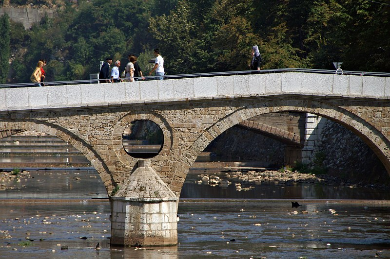 Crossing the Latin Bridge