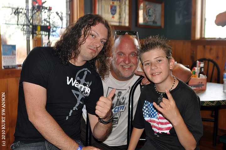 with Anthony Gomes and Tallan Noble