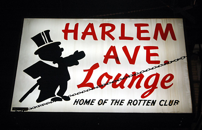 The Harlem Ave. Lounge