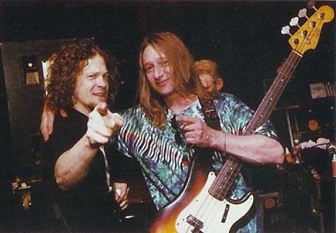 WITH  JASON NEWSTED FROM METALLICA