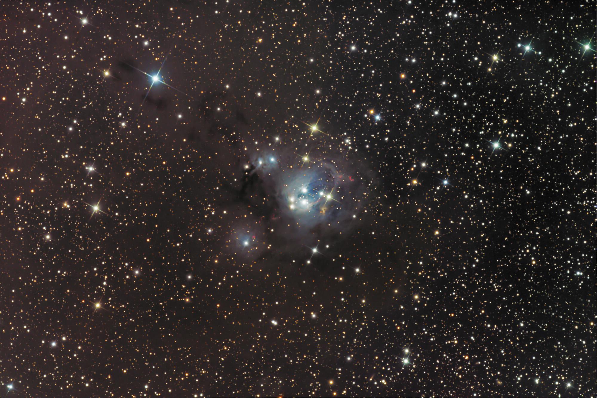 NGC 7129 (full frame)