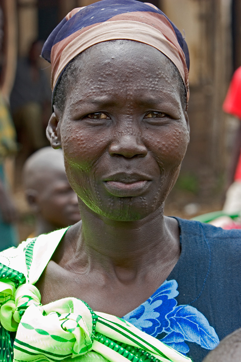Woman from the Anouak tribe