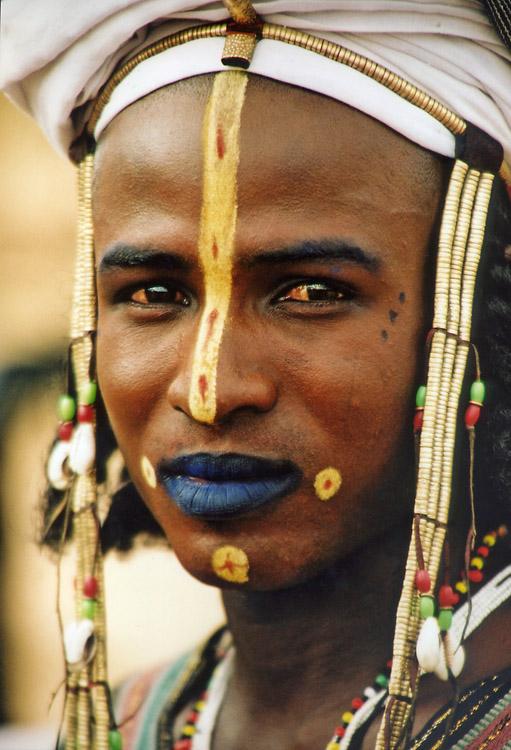 Wodabé man (Niger)