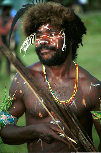 Dani warrior (West Papua)