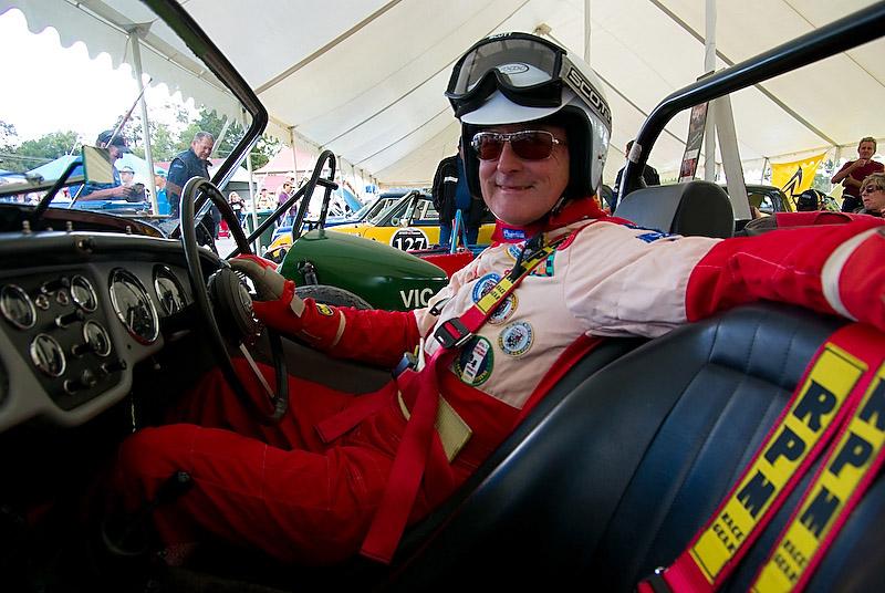 Triumph TR3 driver