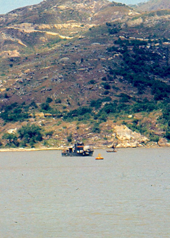 A Chinese Navy Gunboat (Macao)