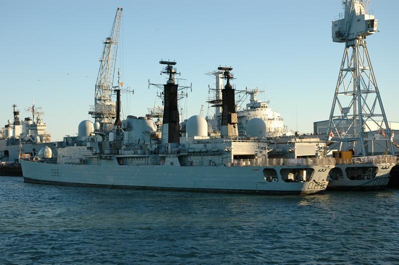 HMS Glasgow & HMS Exeter