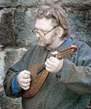 The Mandolinplaying Blacksmith at Fredriksten (of Finnish  origin)