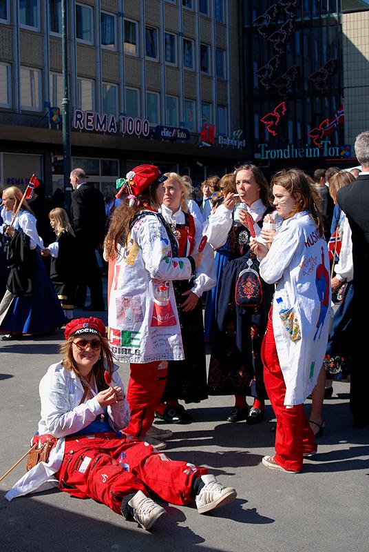 Russ celebration (russefeiring)
