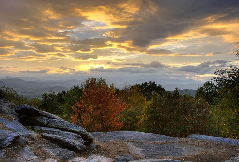 Early Fall at Jump Off Rock
