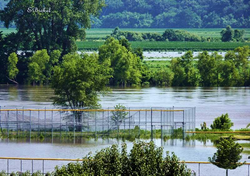 Ball Field Under Water