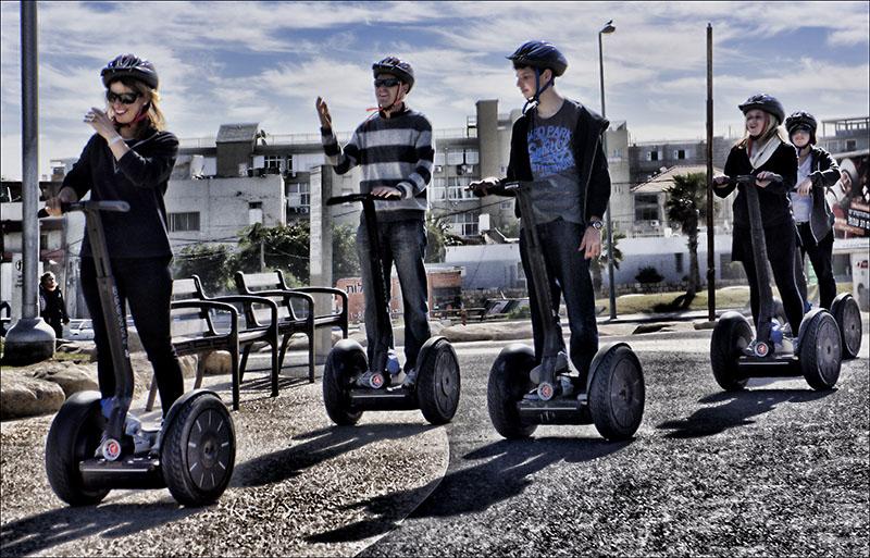 Touring Tel Aviv on Wheels