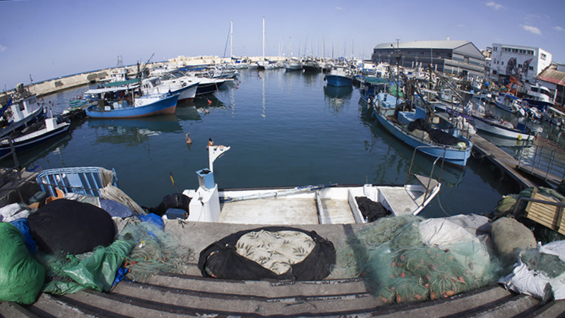 1-Fisheye View of Jaffa Port.jpg
