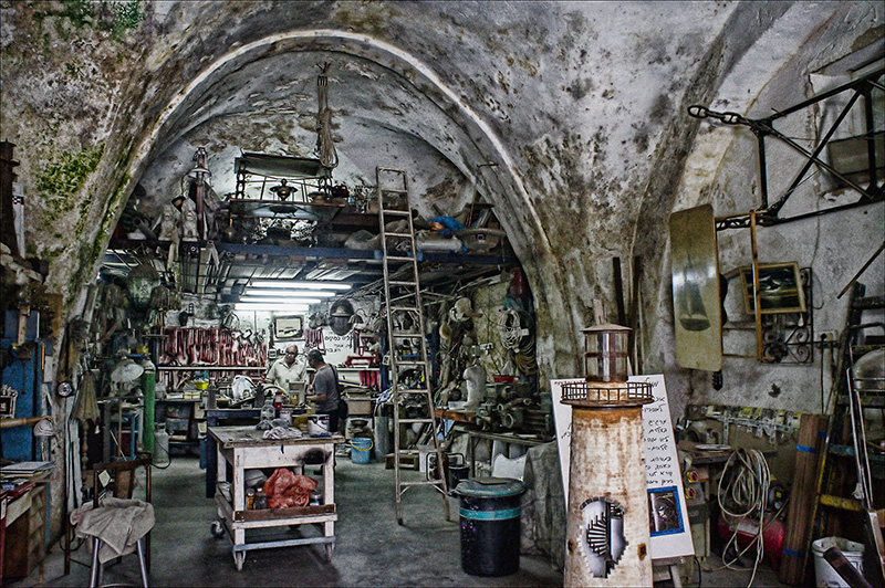 Artisan Shop in the Old Walls of Jaffa