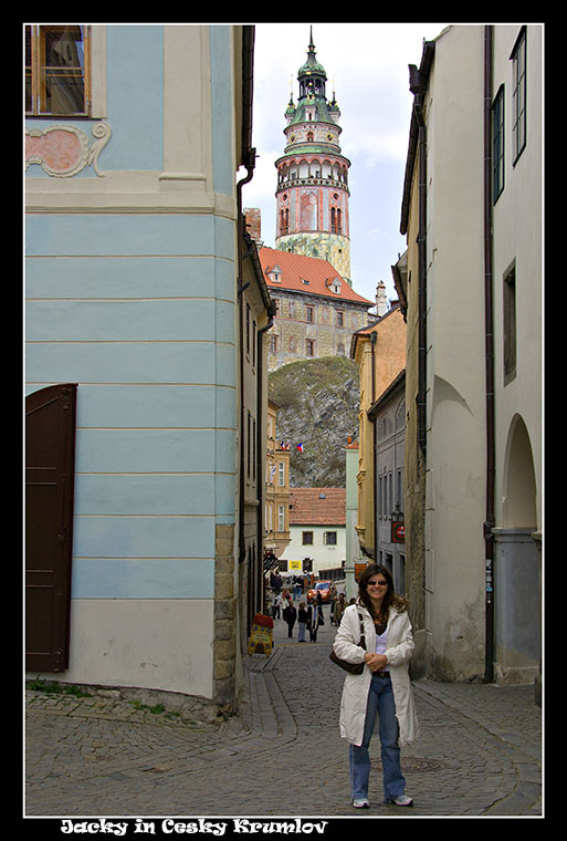 Side Trip to Cesky Krumlov with Daughter Jacky