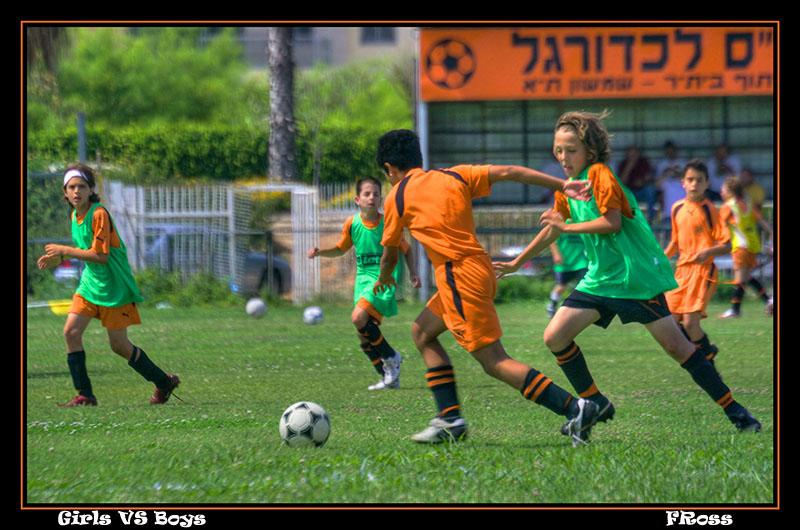 Schools Play Soccer in Tel Aviv