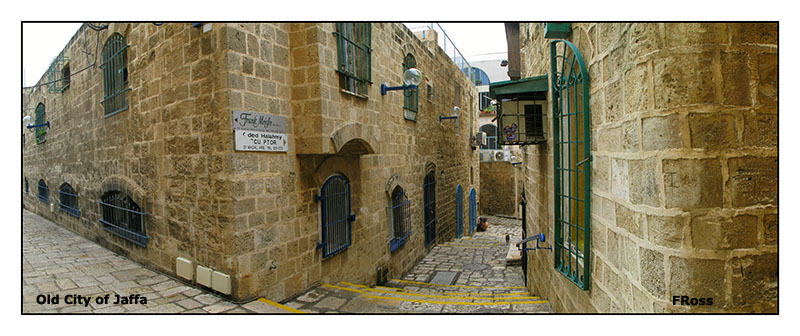 A couple of streets in the old city