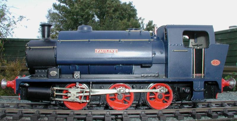 Pauline an Industrial engine.