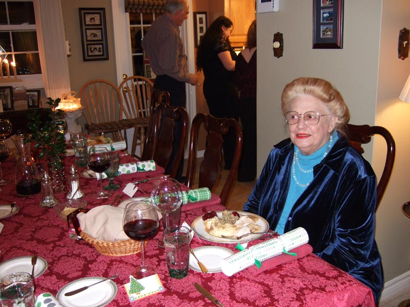 Mom At Supper