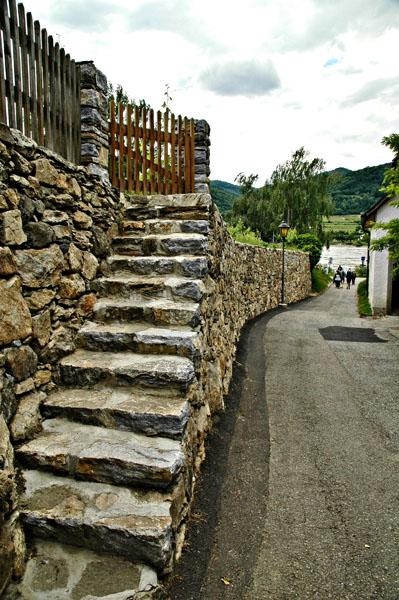 Austria: Alley & Vineyard Steps