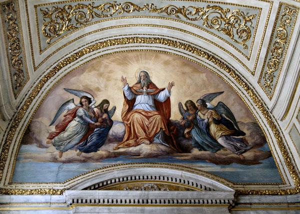 Prague: Monastery Ceiling