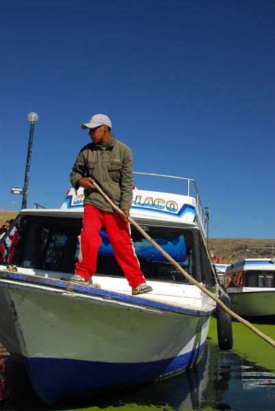 Boat crewman