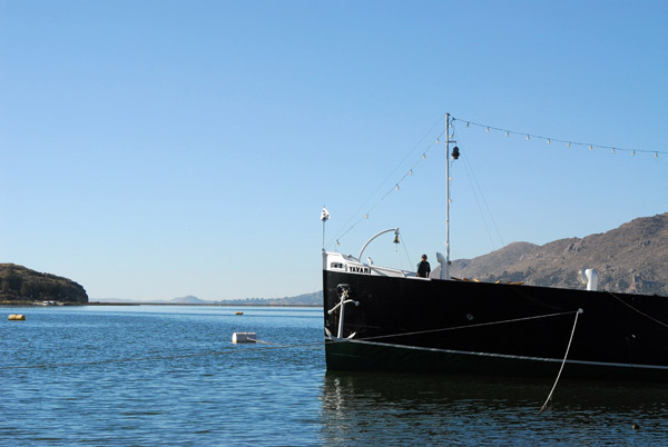 It took 6 years to ship the Yevari from England to Lake Titcaca