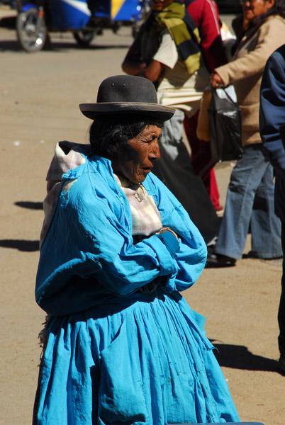 Indian woman, Puno