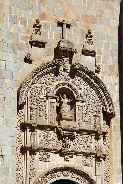 Detail, Cathedral of Puno