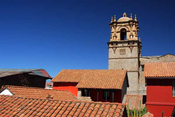 Puno Cathedral from Casa del Corregidor