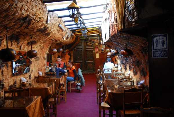 Lunch at a resturant, Calle Lima, Puno